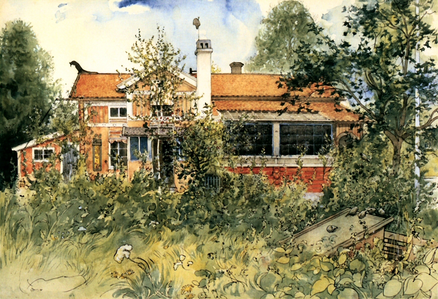 The Carl Larsson home