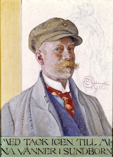 Carl Larssons porträttsamling